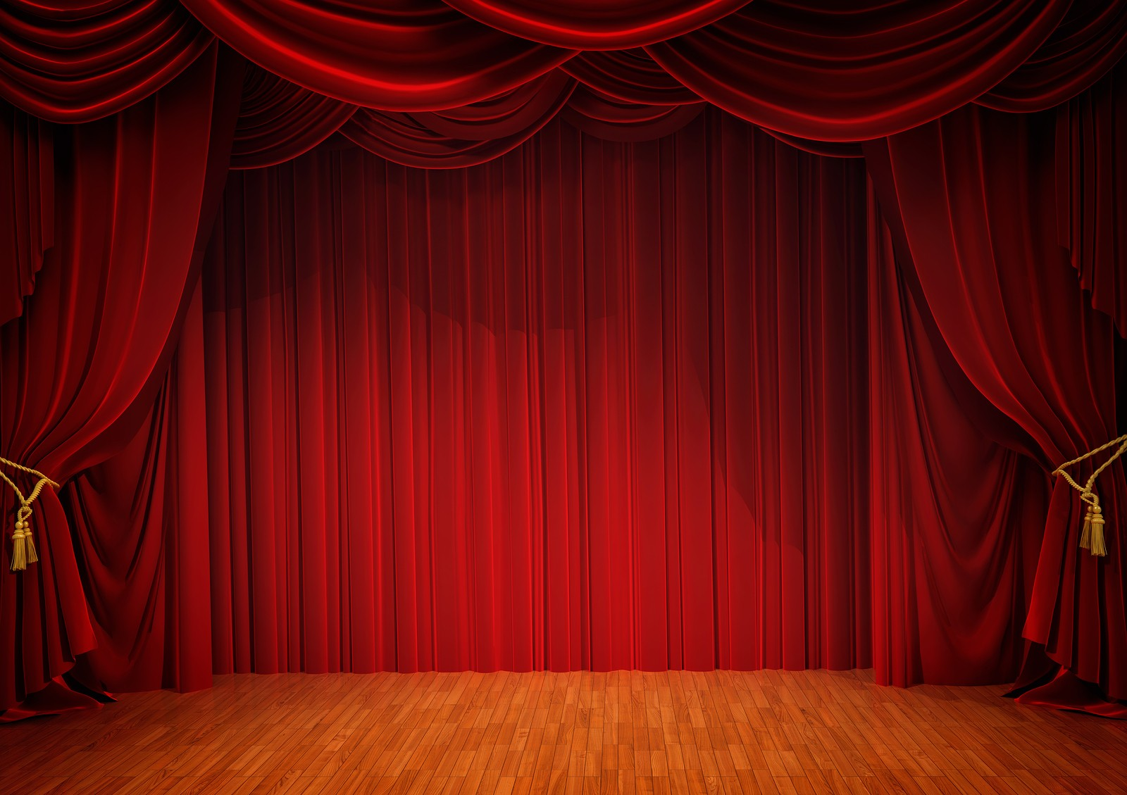Red stage curtains - Stage Curtains Closed Real Red Stage Curtain Click To Enlarge Bigstock Stage With Red Curtain