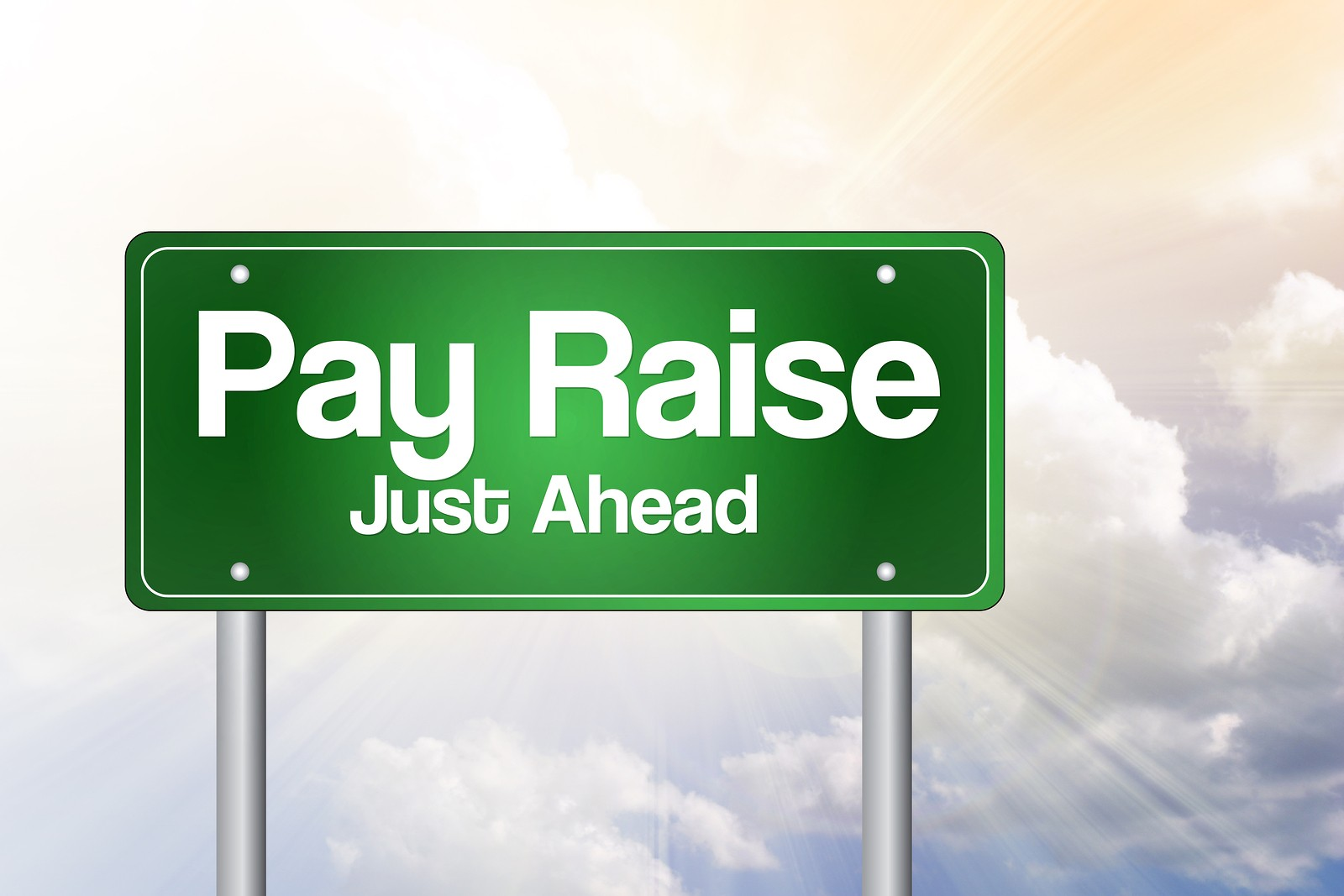Learn How To Ask For A Raise, The Right Way By Brenna Bailey Click To  Enlarge Bigstockpayraisejustaheadgreenro114547832