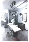 An exam room at UA Campus Health in 1971