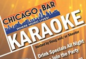 Karaoke night @ chicago bar