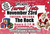 """Cryptic Wisdom's """"Turn 4 Tots"""" Holiday Toy Drive & Concert Supporting Tucson Area Toys for Tots"""