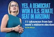 Yes, a Democrat Won a U.S. Senate Seat in Arizona!