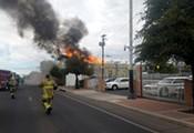 Devastating Blaze