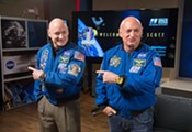 Twins Peek: Scott, Mark Kelly help NASA