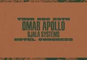 Omar Apollo at Hotel Congress