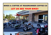 Bikes and Coffee at Roadrunner