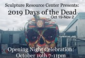 """""""Days of the Dead"""" Art Show Opening"""