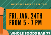 Whole Foods Bar 77 Live Music with Baja Caravan