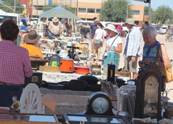 Visit the Mercado Flea Market
