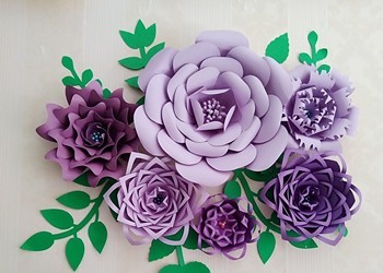 Giant Paper Flower Making Workshop at Craft Revolt
