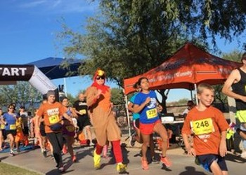 Work Up To Thanksgiving at the Marana Turkey Trot