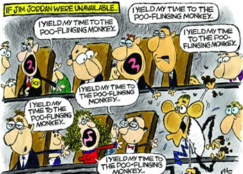 Claytoon of the Day: Poo-Flinging Republicans