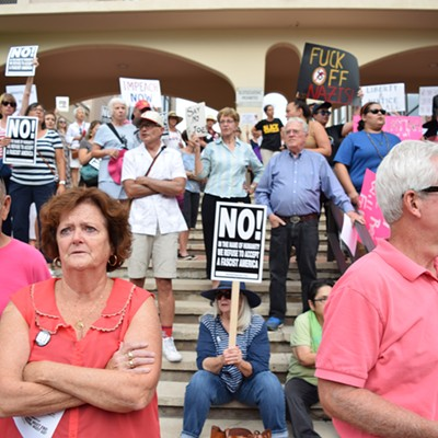 Tucsonans Against Racism Protest and Rally