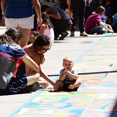 SAACA Chalk Festival At Park Place Mall