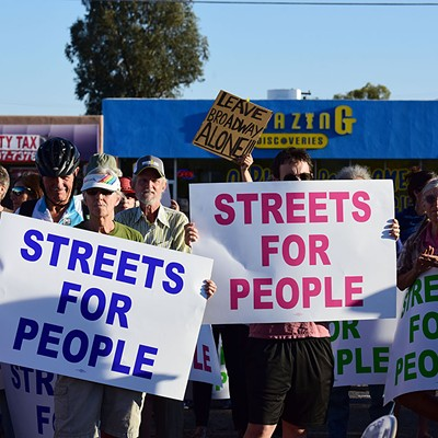 Streets For People: Protest Against Broadway Improvement Project