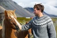 BIGSTOCK - Man loves horse
