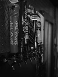 BRIAN SMITH - The drafts at Kolb Road Lounge.