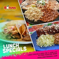 Lunch Specials 11-5 M-F - Uploaded by Arnoldo Silva