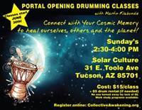 Portal Opening Drumming Classes - Uploaded by Martin Klabunde