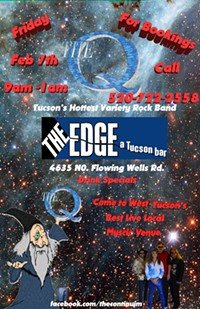 """The """"Q"""" Tucson's Hottest Variety Rock Band is back at the Edge - Uploaded by IdyllMind"""
