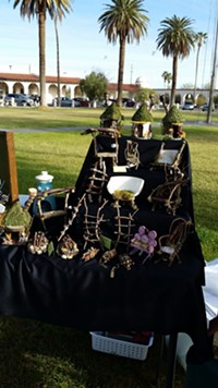 One of many Ajo artisans' booths at the Mercado - Uploaded by ajo-sue
