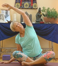 Marty Twitchell offers tips for a restful sleep and poses you can do in bed. - Uploaded by YogaConnection