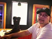 BRIAN SMITH - David Doc Holliyday and his boot.