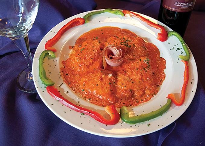 Vitello mezzaluna at Vitello's Ristorante Italiano.
