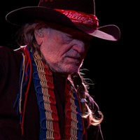 Willie Nelson at the Desert Diamond Casino, Mar. 6, 2012 Willie Nelson brought his family with him to the Desert Diamond Casino on March 6, 2012, including his son, Lukas Nelson, who served as the opening act. C. Elliott