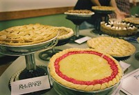 Winning pies from Pie Party pie contest past years