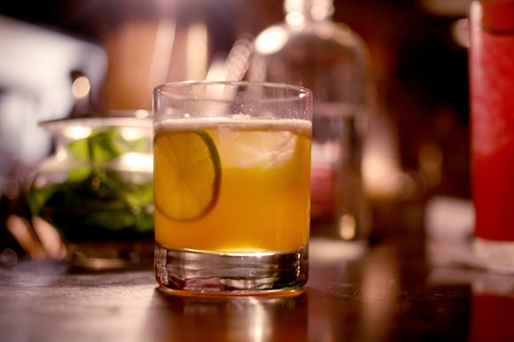 With just four components, this cocktail packs a punch. - HEATHER HOCH