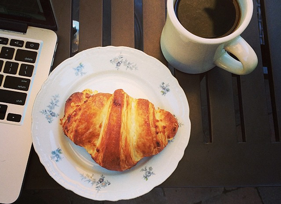 You probably already know Maker House's new pastry chef by his flawless croissants. - HEATHER HOCH