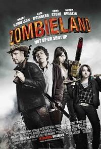 Zombieland starring Woody Harrelson, Emma Stone